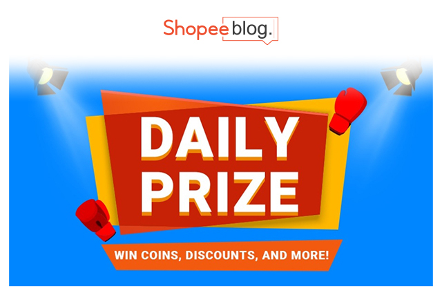 shopee daily prize