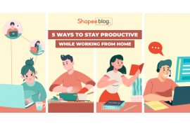 work from home tips - shopee blog