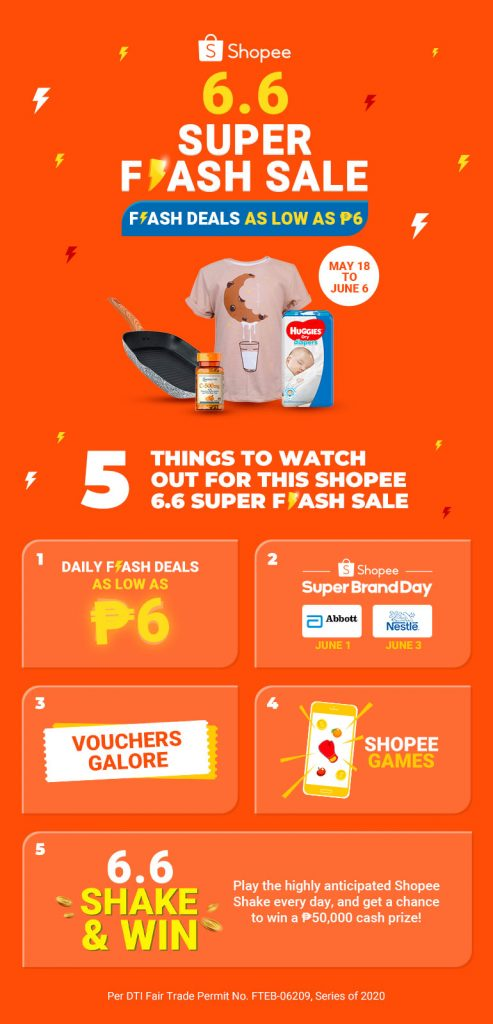 shopee 6.6 things to watch out for