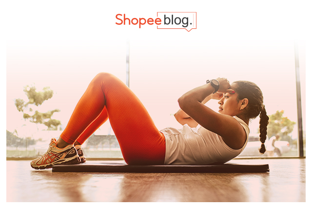 Shopee 8.8 workout outfit