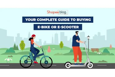 electric bike and electric scooter banner