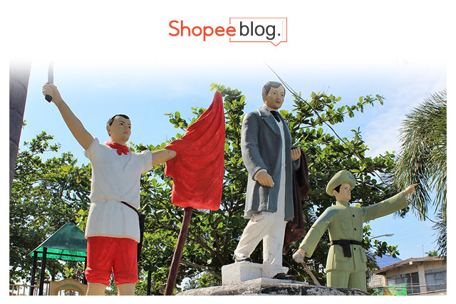 statues of philippine heroes
