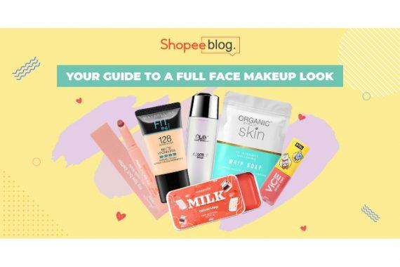 full face makeup guide