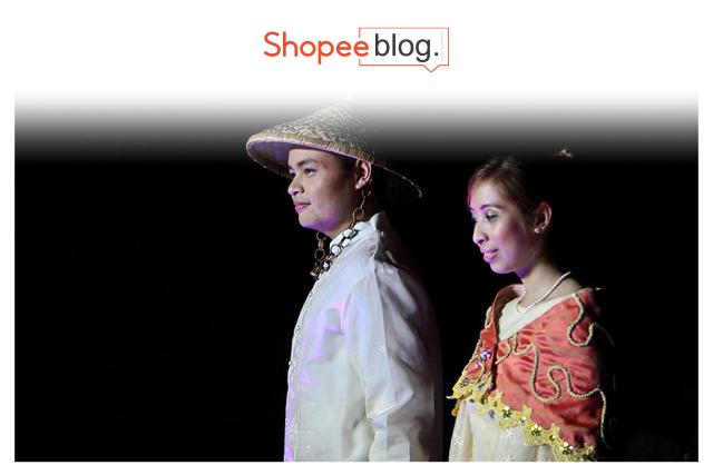 Couple in barong tagalog and baro't saya