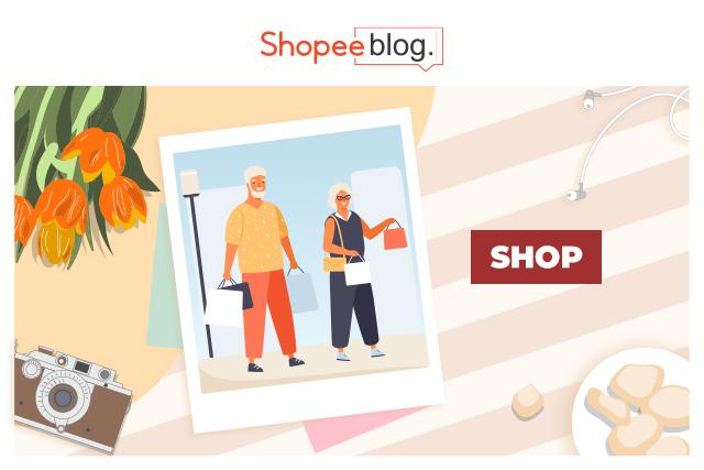 shopping grandparents