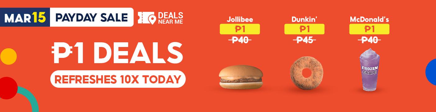 1 peso deals