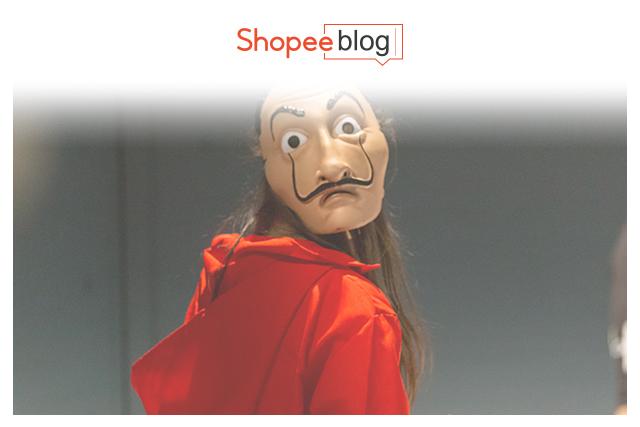 Simple Halloween Costumes Money Heist Mask