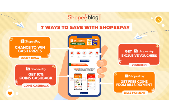 how to use shopeepay and ways to save