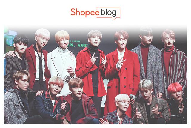 popular k-pop groups - seventeen