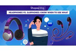 headphones vs earphones