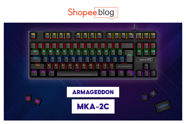 best gaming keyboards armageddon
