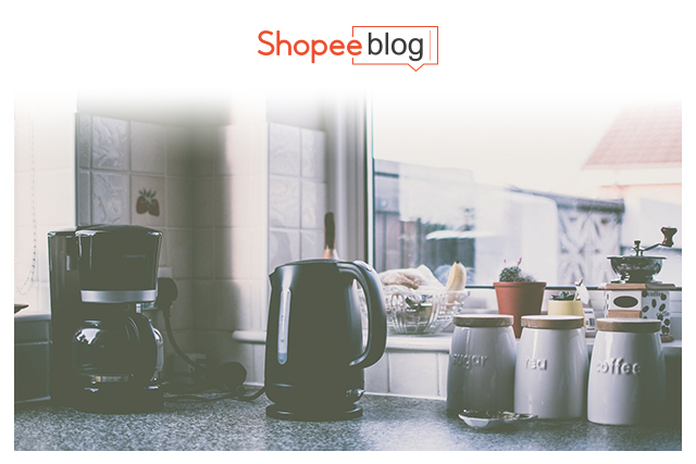 coffee maker in a kitchen
