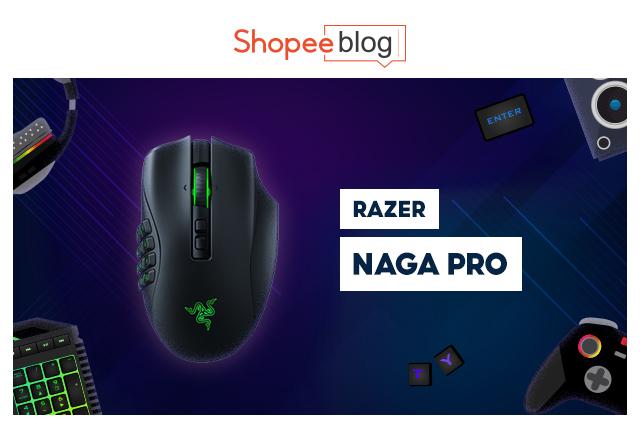 best gaming mouse - razer naga pro
