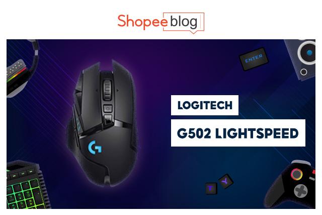 best gaming mouse - logitech g502 lightspeed