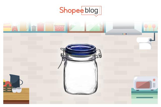 clip top jar