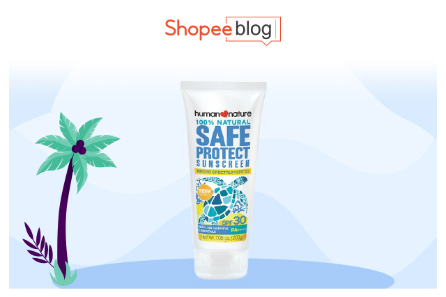 human nature safeprotect sunscreen