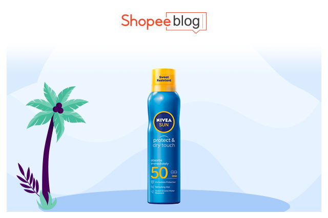 nivea sun protect and refresh spray