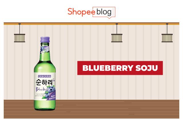blueberry soju
