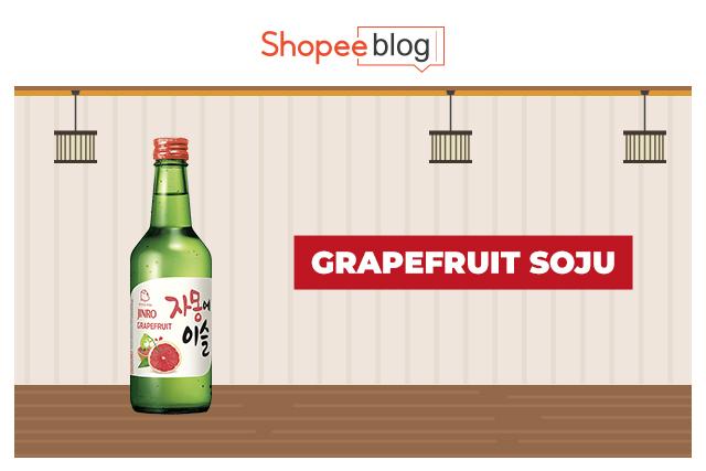 grapefruit soju
