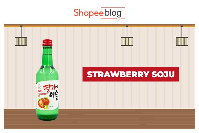 strawberry soju