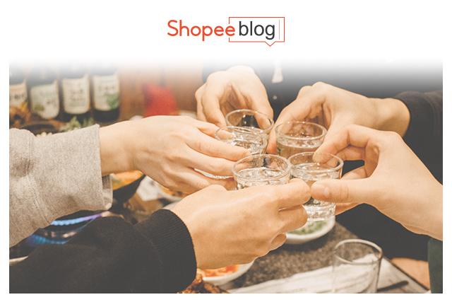 people drinking korean alcohol