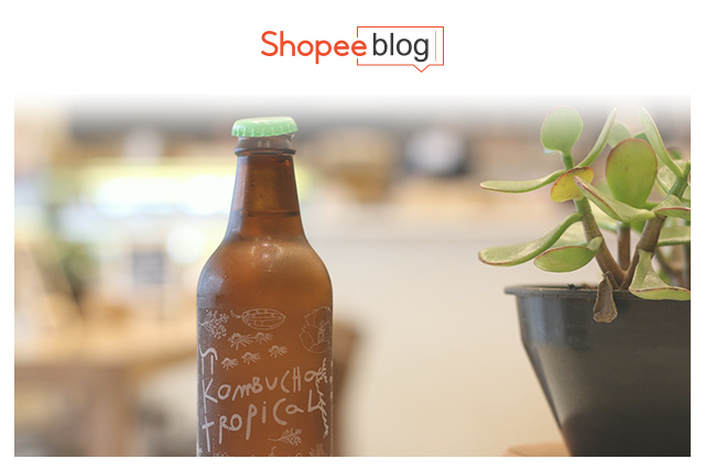 kombucha in a bottle
