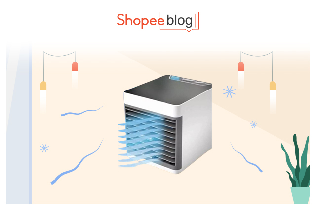 Mini Air Cooler with USB Cooler and Portable Aircon Fan