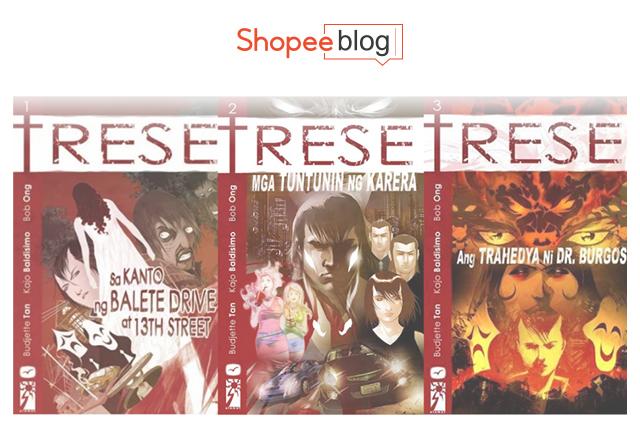 TRESE Volume 1-3 (Filipino Translations)