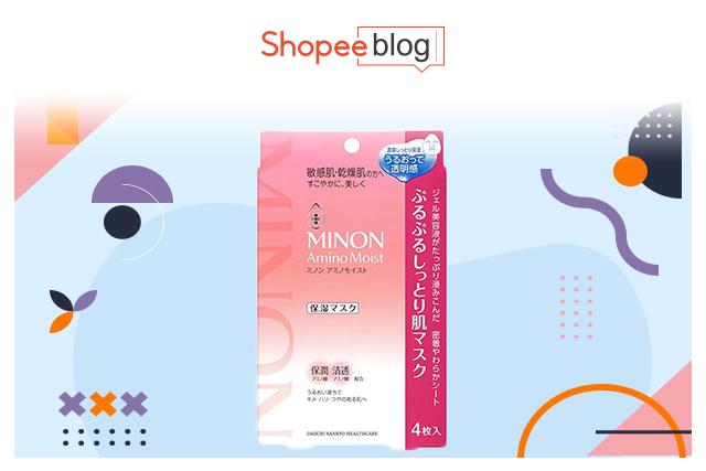 minon amino moist mask nayeon chaeyoung twice