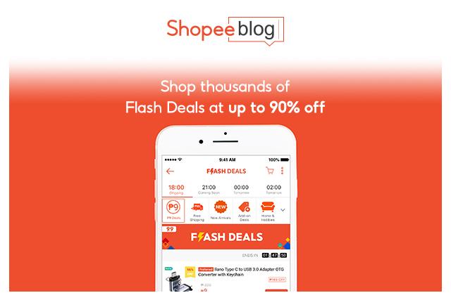 flash deals app screenshot