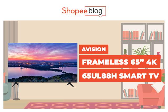 avision 65 inch smart tv