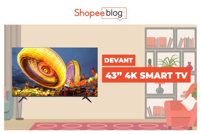 devant 43 inch smart tv