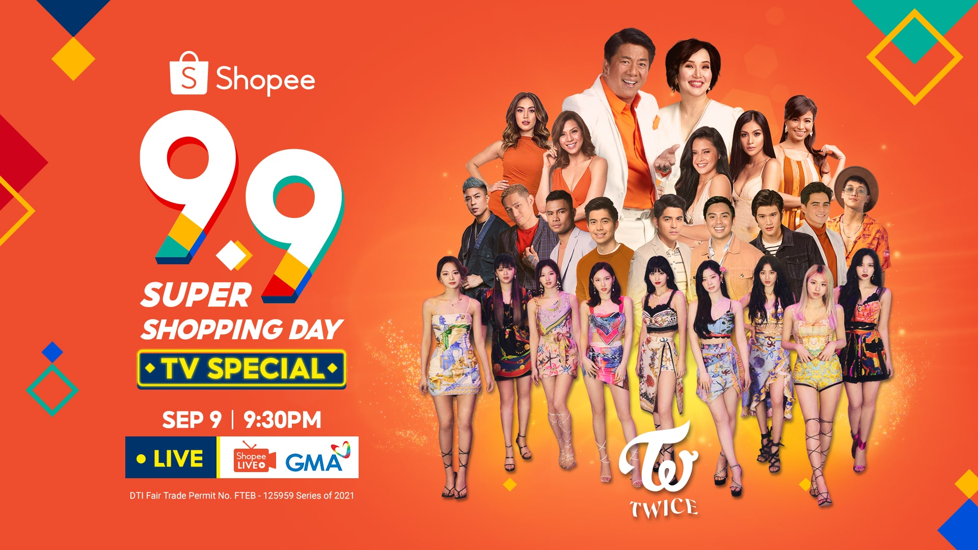 shopee 9.9 tv special