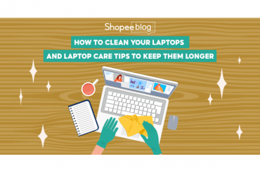 how to clean laptop
