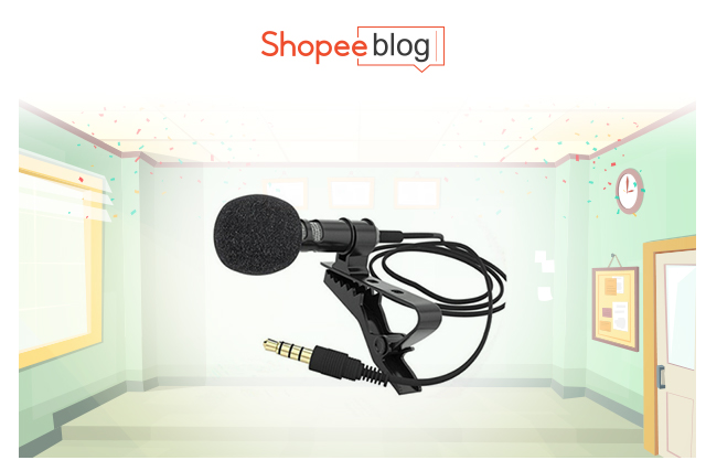 hands-free lapel microphone