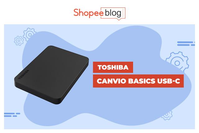 Toshiba Canvio Basics USB-C
