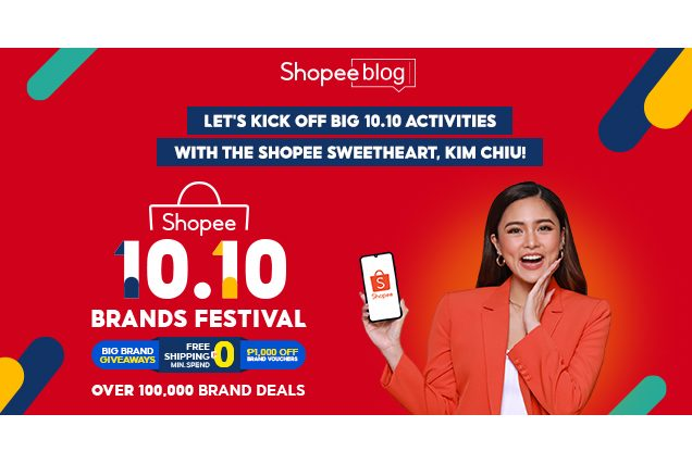 Kim Chiu on Shopee